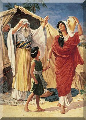 Sacra Bibbia Illustrata Antico Testamento Genesi Abramo Agar E Ismaele Sacrificio Di Isacco