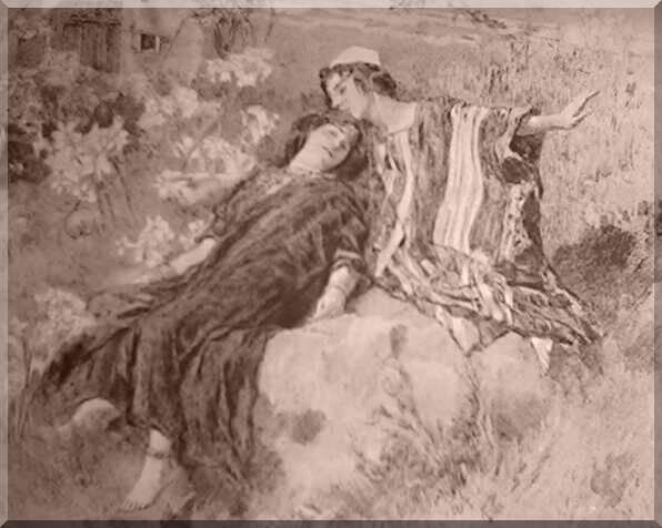 Il Canto dei Cantici di Re Salomone dans immagini sacre GiglioTraPruni