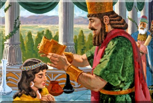 Sacra Bibbia Illustrata Antico Testamento Ester E Mardocheo